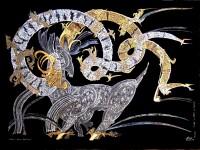 Козерог из цикла Золотые звери чужих цивилизаций